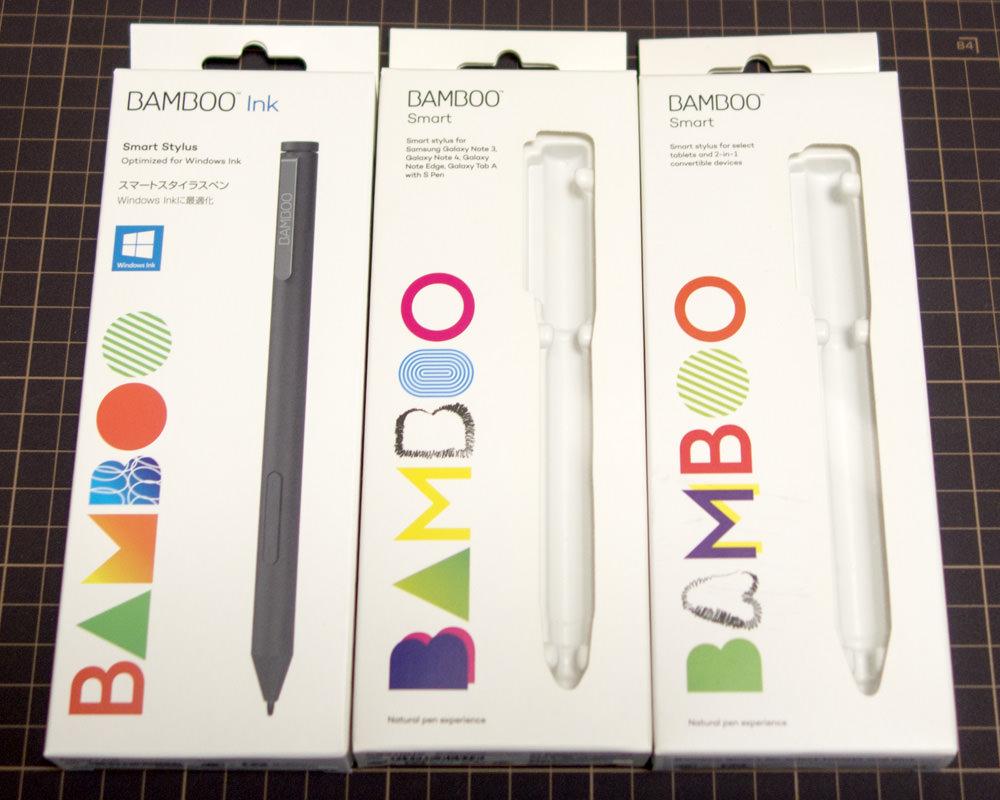 Bamboo Ink実機レビュー Surface Pro 3などN-trig機種では大きなメリット